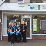 Delivery of Pharmaceutical Care - Dewi Cook and team, Well Pharmacy, Port Talbot
