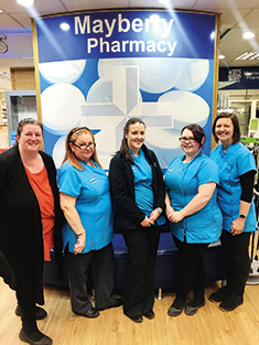Innov in Quality Efficiency through Technology - Mayberry Pharmacy, Medi Pack team