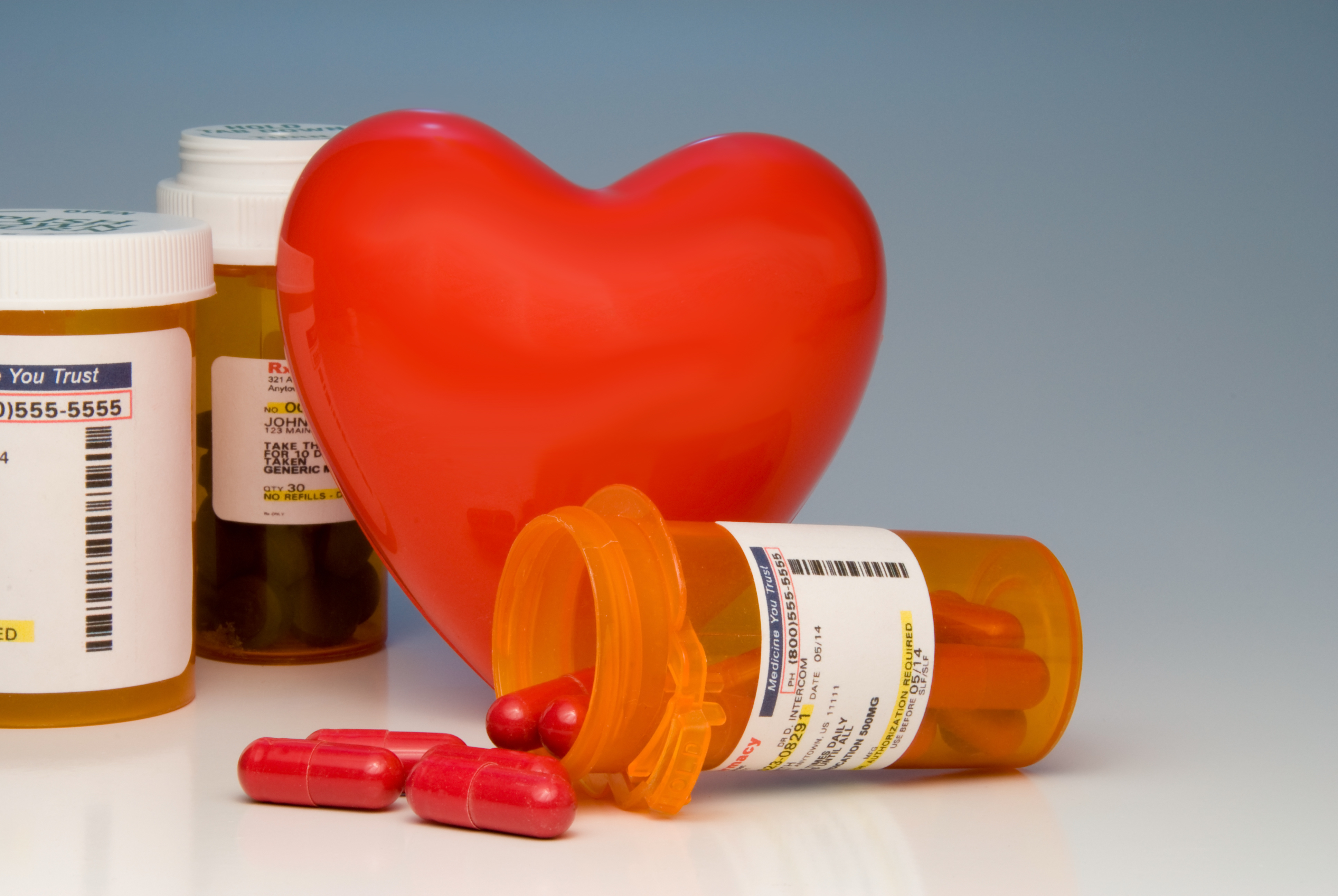 Beta Blockers Not Needed After Heart Attack if Other