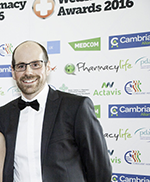 webRussell Goodway (CPW) Sally loyd (Morrisons Pharmacy) and Craig Hinks